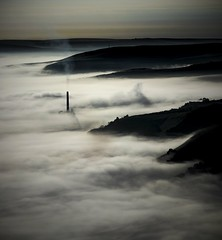 Smoky, Misty_ (Chris Shaw - chriscross) Tags: cement works hope valley 80d canon contrast mist smoke