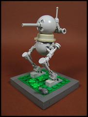 Ma.K Quarter Pounder (Karf Oohlu) Tags: lego moc frog mak frogscale walker maktober