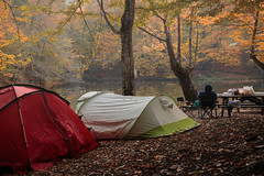 Resting... (Explored 08.10.2016) (RKAMARI) Tags: yedigllernationalpark autumn camping colour forest joy lake landscape lonely man nature outdoor resting serenity travel warm water