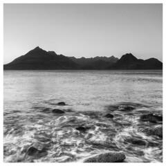279/366 Elgol Sunset (Sarah*Rose) Tags: skye elgol sunset water rocks cullin