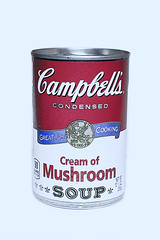 "Week 41 of 52 Theme: ""Post Modern Artist"" Love the Soup! Is it art though?... (sumoetx) Tags: week41of52 postmodernartist andy warhol coup campbells creamofmushroom flat light howardjackman sumoetx nikon d750 50mmf18"