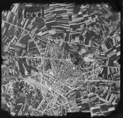 Arezzo, WWII aerial view (Aerofototeca Nazionale - ICCD) Tags: ww2 aviation bombs history photography allies usaaf campaign city planning urbanistica landscape nazionale citt italiane seconda guerra mondiale world war storia paesaggio territorio fronte cityscape townscape panorama