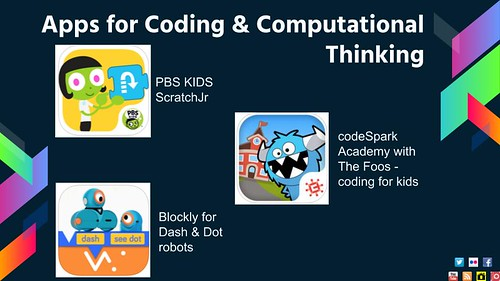 Apps for Coding and Computational Thinki by shellyfryer, on Flickr