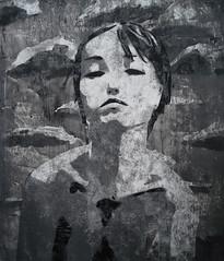 die Laufkatze Leben (Christian Haupt) Tags: kunst art acryl malerei monochrome stencil serigrafie sprayart painting