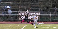 Rainy catch (acase1968) Tags: sou football matt retzlaff southern oregon university raider stadium alltime career receiving yards record nikon d500 nikkor 70200mm f28g