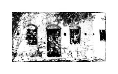 IMA_9692SEb  Light and Shade (foxxyg2) Tags: mono monochrome bw blackwhite highkey highcontrast buildings churches chapels monasteries greece greekislands islandhopping islandlife naxos cyclades niksoftware silverefex