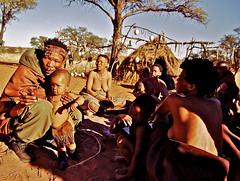 06-29bis (annieleroy479) Tags: bushmen afrique dsert bantoues tribu