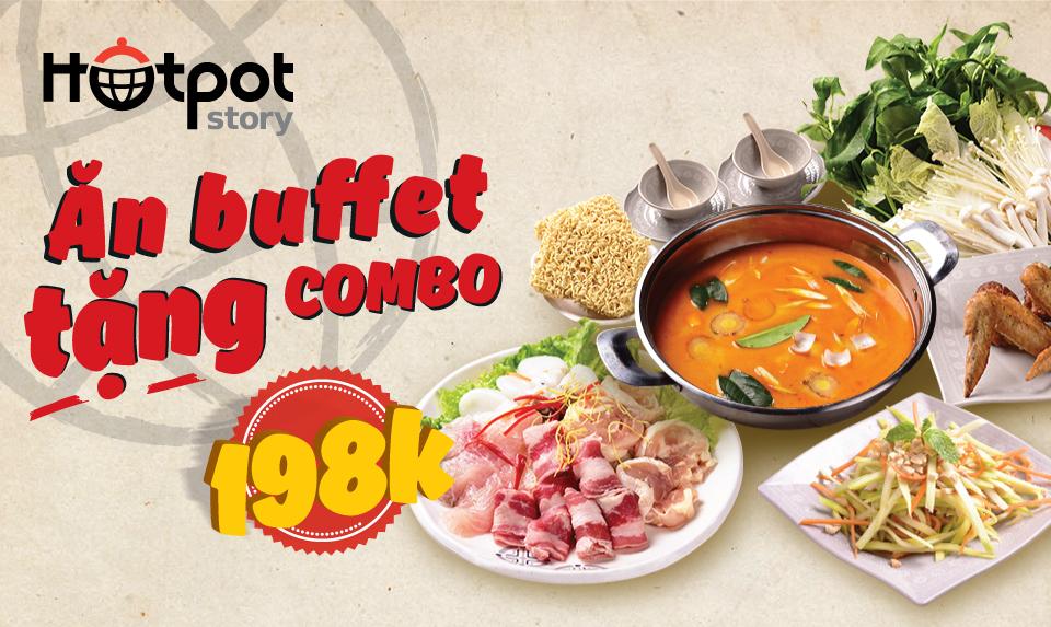 Ăn Buffet tặng combo | HotpotStory