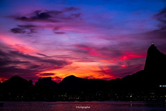 Rio's sunset (scrigraphe) Tags: rio sunset fujifilm urca