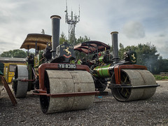 Aveling Rollers At Foxfield (Ben Matthews1992) Tags: foxfield railway gala preservation preserved steam road traction engine old vintage historic vehicle transport classic staffordshire aveling porter roller equipment 11678 yb8380 11024 bf6234 skippy