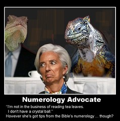 Christine LAGARDE numerology (quasuo) Tags: numerology christinelagarge ancientiguana politics people politicians bank imf stupidity