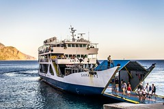 Sougia Bay , Samaria Ferry. (safc1965) Tags: samaria gorge crete greece libyan sea agia roumeli walking hiking mountain scenery lanscape