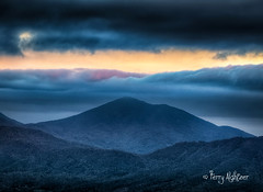 Tip Touch Twilight Peaks of Otter (Terry Aldhizer) Tags: terry aldhizer tip touch twilight peaks otter mountain blue ridge mountains parkway clouds evening sky virginia wwwterryaldhizercom