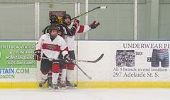 Theo & Ethan (YYZ John) Tags: pickeringhockeyassociation pha pickeringpanthers omha minormidgetaa minorhockey ontariominorhockeyassociation 93 10 ethan theo aatriple20 aatripletwenty 2016aatriple20 londonjuniorknightstournament