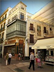 Dans Sville, Andalucia, Espana (claude lina) Tags: claudelina espana spain espagne andalucia andalousie ville town city sevilla sville architecture rue street