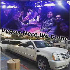 Is there any other way to travel to #Vegas? We think not.  #OLNinc #travel #teamlove #workhardplayhard #limo #roadtrip (oln_inc) Tags: oln inc carson ca los angeles