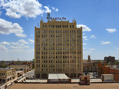 Downtown Amarillo, Texas (Photography Jones) Tags: santa urban santafe nikon downtown cityscape texas amarillo april fe builing 2013 d7000