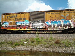 cmer Yava (HOUSTON STREETS) Tags: houston graffit freight yava cmer