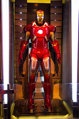 Iron Man Tech (HarshLight) Tags: california travel disneyland ironman anaheim tomorrowland
