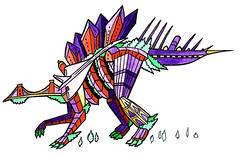 Kentrosaurus (andy council) Tags: city houses detail art andy monster architecture illustration buildings bristol design dinosaur drawing concorde council cliftonsuspensionbridge ssgreatbritain kentrosaurus andycouncil