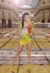 good deals, great look (Dark Angellina) Tags: fashion mesh sl secondlife soul whatever hush slink loq ryca purpleposes