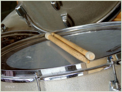 Drumsticks Well Utilized (JDNEDream) Tags: music drums nikon drum drumsticks makingmusic atrest nikoncoolpix wellused utilized nikonp510 wellutilized nikoncoolpixp510