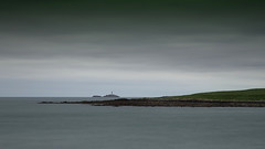 rockabil island (jbredrebel) Tags: longexposure ireland sea sky dublin irish lighthouse cold grass clouds island grey moody may windy lee nd filters martello skerries fingal neutraldensity 10stop rockabill bigstopper