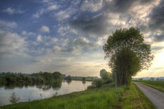 Dehme Countryside in May (blavandmaster) Tags: park bridge trees sky sun colour reflection tree green art nature water beautiful grass yellow clouds buildings reflections river germany season landscape deutschland licht soleil countryside gut spring eau colours seasons cloudy awesome horizon natur may meadow himmel wolken sunny rivire ciel arbres owl land handheld nrw weser chateau nuages landschaft sonne bume allemagne parc hdr rapeseed westfalen ostwestfalen weserrenaissance wasserschloss contryside lhne photomatix 2013 ulenburg obernbeck dehme