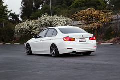 m3 (InGhostColours) Tags: white cars gm wheels evolution alpine bmw cks 19 aw vmr gunmetal coilovers 3series p3 328i v705 tiltmode43 racewerks f30post