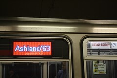 To Ashland/63rd (cta web) Tags: railroad chicago cta trains transit southside redline chicagotransitauthority rapidtransit danryan ctaredline redsouth redlinesouth