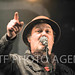 The Levellers on the Main Stage at the Bearded Theory Festival featuring band members : Mark Chadwick,Jeremy Cunningham,Charlie Heather,Simon Friend,Jonathan Sevink and Matt Savage