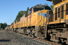 Union Pacific #4468 (EMD SD70M) in Colfax, CA (CaliforniaRailfan101 Photography) Tags: up amtrak unionpacific priority ge freight bnsf reefer manifest emd californiazephyr burlingtonnorthernsantafe dash9 dpu es44dc gevo sd70m amtk c449w stacktrain sd70ace es44ac colfaxca c45accte p42dc trackagerights es44c4 tietrain sd59mx unitreefer zdlsk trainsincolfaxca