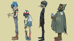 Fav. Band (Robotniq) Tags: beach russel cartoon band days plastic demon noodle cyborg 2d gorillaz murdoc dsides