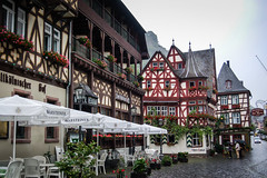 Altstadt Bacharch Germany along the Rhein River (mbell1975) Tags: old mist rain river germany deutschland town europe day cloudy rainy german valley rhine altstadt oldtown rhein along deutsch bacharch