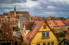 Rothenburg ob der Tauber Germany - with Church of St James (mbell1975) Tags: old church st germany bayern deutschland bavaria james town europe with franconia medieval german ob der altstadt rothenburg deutsch odt tauber roethenburgodtgermany