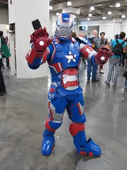 Iron Patriot (Docking Bay 93) Tags: new york man america war iron comic cosplay machine captain marvel comiccon comicon con nycc 2013