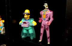 20150530 - yardsale haul - IMG_0463 - Homer Simpson, The Joker
