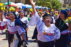 Let's celebrate (klauslang99) Tags: streetphotography klauslang cuenca ecuador celebration dancing people outdoors