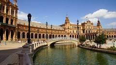 Spain Sevilla - Plaza de Espana (janvandijk01) Tags: spain sevilla plaza de espana spanje seville