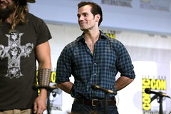 Henry Cavill (Gage Skidmore) Tags: zack snyder ben affleck henry cavill gal gadot ray fisher ezra miller jason momoa justice league film san diego comic con international california convention center