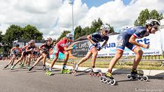 2016-07-30 EK Skeeleren Steenwijk (102a) (Peter Donderwinkel) Tags: ekskeeleren2016steenwijk inlineskating seniorladies junioraladies ek klimvansteenwijk schaatsennl kpn skeeleren outdoor sport event speed race canon