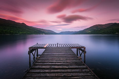 Loch Earn (devlin11) Tags: loch earn scotland scenery sunrise sky clouds cloudy morning landscape lee d810 nikon magic tranquil pier jetty water exposure st fillans crieff