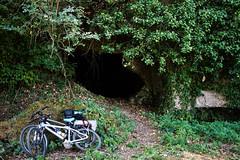 DSC_2283 (docmaso) Tags: viafrancigena bike rocks nature