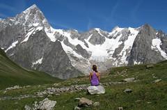 L'immenso. (mimu81) Tags: valdaosta altavia1 mountains alps alpi trekking hiking italy valferret montebianco montblanc snow white ice glacier