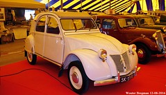 Citron 2CV AZL 1955 (XBXG) Tags: sk1310 citron 2cv azl 1955 citron2cv 2pk eend geit deuche deudeuche icccr 2016 landgoed middachten de steeg desteeg rheden gelderland nederland holland netherlands paysbas vintage old classic french car auto automobile voiture ancienne franaise france frankrijk
