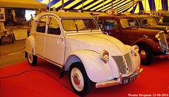 Citroën 2CV AZL 1955 (XBXG) Tags: sk1310 citroën 2cv azl 1955 citroën2cv 2pk eend geit deuche deudeuche icccr 2016 landgoed middachten de steeg desteeg rheden gelderland nederland holland netherlands paysbas vintage old classic french car auto automobile voiture ancienne française france frankrijk worldcars