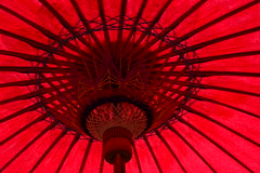 Crimson Youth. (M. Bells. Photography) Tags: art photos photography japanese umbrella red crimson color