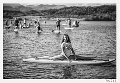 Anja the ''SUP'' girl (Alja Ani Tuna) Tags: 70 70365 365 photo365 project365 portrait panorama anja girl sup lake split woman bw blackandwhite black beautiful blackwhite beach white water people onephotoaday onceaday cute nikond800 nikkor nikkor85mm nature naturallight nice 85mmf18 d800 f18 young younggirl portraitunlimited face monocrome monochrome legs longlegs
