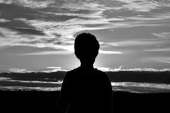 a contraluz (Milagros Sahln) Tags: contraluz atardecer sunset blancoynegro