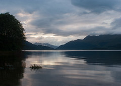 Day 299 - 365 (Chris Jackson Photos) Tags: dusk water landscape mountainscape loch lake scotland lomond evening mountain
